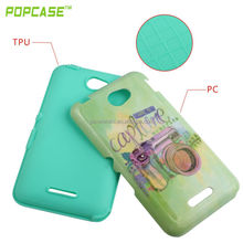 TPU+PC design combo case for sony E4