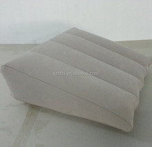 inflatable bed wedge with washable cloth cover