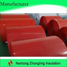 red electrical insulation fiber board