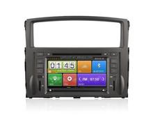 Capacitive touch screen car radio dvd player gps navigation for Mitsubishi Pajero