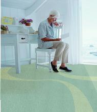 3.3 Thickness Foamed PVC Flooring Plank for Nursing Home
