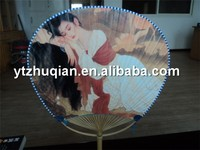 Top grade bamboo wooden frame for hand fans ON SALE