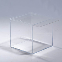 Wall Mounted Storage Cube with A Sliding Lid