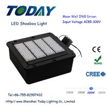UL DLC led shoebox light Lighting Solutions 200W LED, led high pole mast light for outdoor basketball court