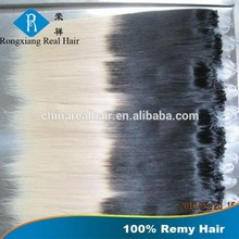 Directly Factory Alibaba Italian Glue Remy Cheap Wholesale ombre micro ring loop hair extensions