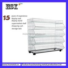 Great top Metal Quick Stop folding display shelves