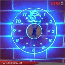 LED Edge Lit Wall Clock, Acrylic Decorative Wall Clock Wholesales