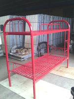 Red Metal Bunk Bed