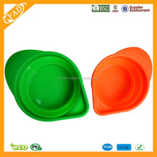 Silicone Measuring Cups Heart shape Pinch Pour Measuring Beaker Cup Cake Baking cup
