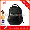 Black laptop backpack with high quality for travel and daily use
