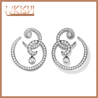 sterling silver sailor moon earring
