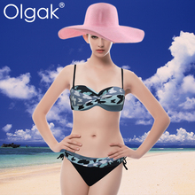 Olgak Ladies Sexy Diamond Bikini Beachwear