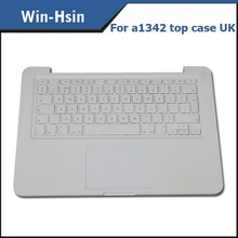 A1342 laptop keyboard with touchpad for macbook a1342 top case uk new