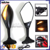 BJ-RM-016 For Yamaha YZF R6 Carbon Motorcycle Side Mirror LED Turn Signal