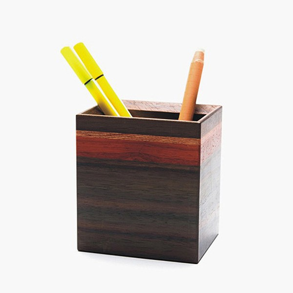 high quality wooden stationery storage box