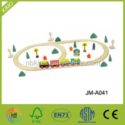 2014 Hot sale wooden train track for promotion