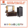 large professional studio makeup train case with lighted mirror dancer lighting mirror actress makeup station