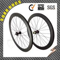 SoarRocs carbon wheels road bike clincher 50mm depth 23mm width disc brake for cyclo cross bike wheels
