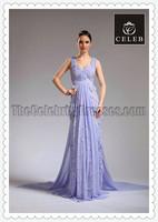 Celebrity Inspired MILA KUNIS 2011 Oscar Lavender Lace Red Carpet Sale Evening Dress