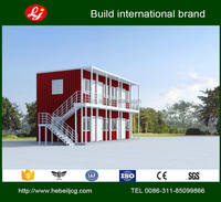 40ft Container Sandwiches board manufacturing container houses