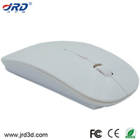 Optical Thin Cute Cheap White Wireless Mouse
