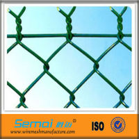 high quality beautiful shape decorative chain link fence
