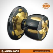 Z5889B-PB Good price and high quality one side knob one side key lock cylinder