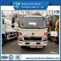 SINO HOWO 4X2 5000L gas refueller truck,fuel tank truck,fuel tank wagon
