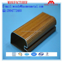 aluminum extruded type and aluminum profile for kitchen cabinet