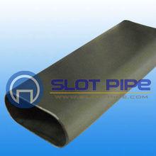 stainless steel FLAT oval/elliptical tube