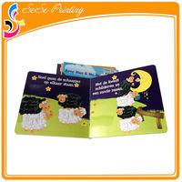 Good quality children cardboard book printing