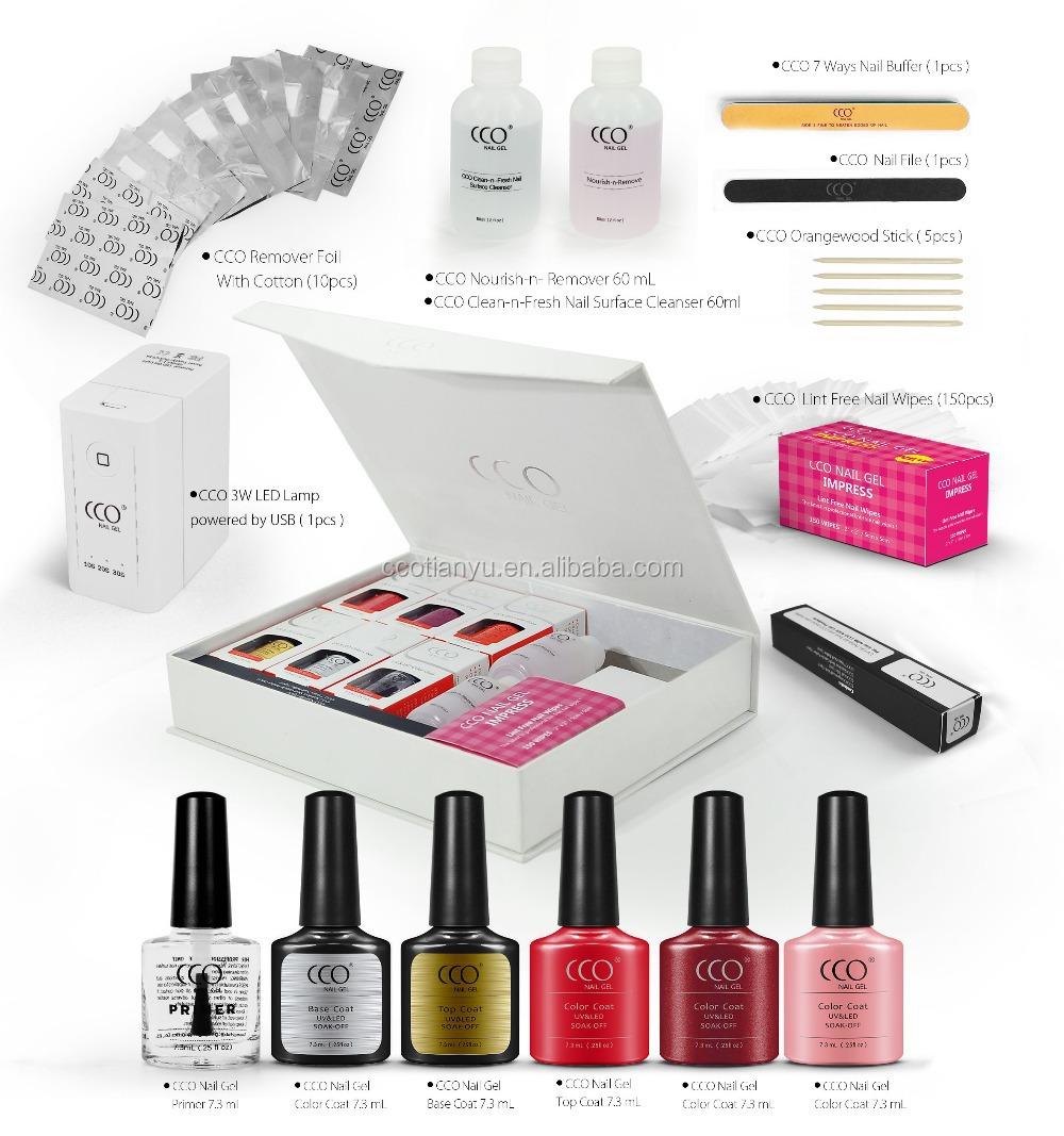 The Cco Sensual Gel Nail Kit Wholesale Nail Polish Manicure Sets ...