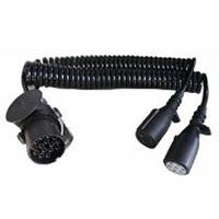shaoxing anka car parts,small 4 pin connector types,retract plug