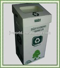Eco-friendly pp plastic recycle bin