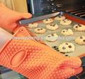 Éxito en ventas, guantes de silicona para horno BBQ - mitón de cocina para hornear, resistente al calor, parrilla BBQ a prueba de agua y humo, para camping