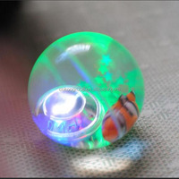 LED Flashing Lighting Toys Bouncing Ball with string