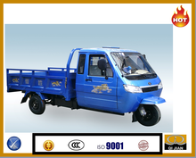 2015 HOT SALE dump truck cabin tricycle cargo closed