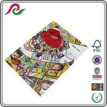 Pp Material And Folder Shape Printing File Folder Stationery Supply A4