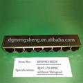 8p8c rede de placas de blindagem rj45 tomada conector de porta