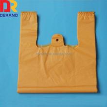 HDPE cheap colorful plastic stripe shopping bags