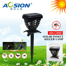 Portable items solar powered mosquito repellent lamp