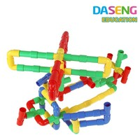 plastic building connector toys for boys