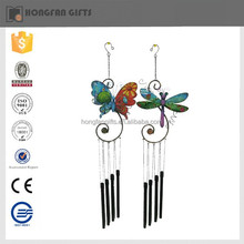 fashion gerden metal butterfly figurines wind chime