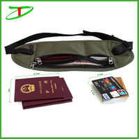 Promotionals hot new products for 2015 travel rfid money belt