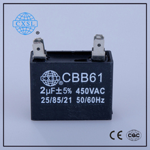 4uf AC Motor Run Capacitor for Celling Fan