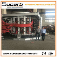 Energy saving industrial induction metal melting oven from factory price