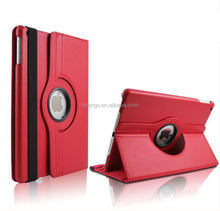 Mobile accessories 360 Degrees Rotating Stand Leather Smart Cover Case for ipad air 2 pu leather case china suppliers