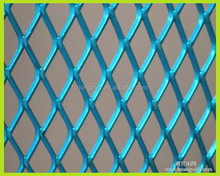 powder coated colored expanded metal mesh panel for internal decoration
