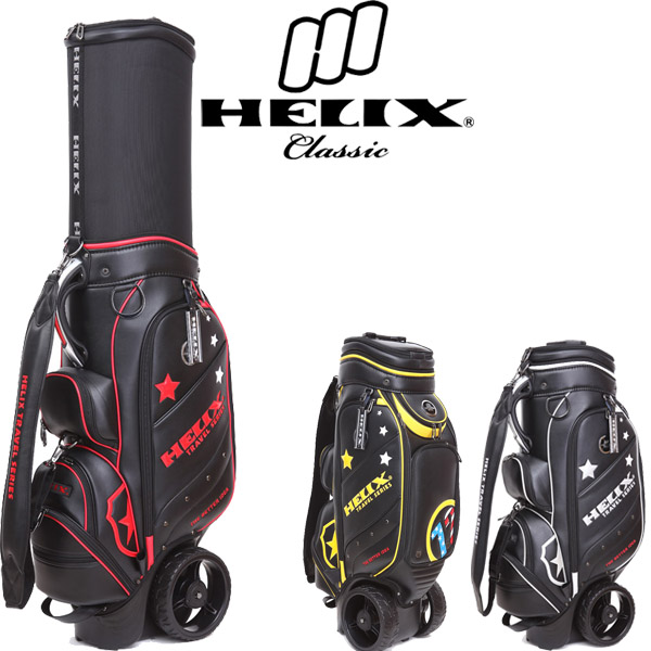 2014 Helix New Design Genuine Leather Golf Cart Bag for Europe