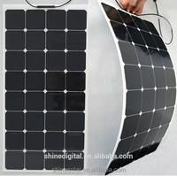 Small Transparent flexible solar panel with high efficiency 12v 100watt